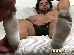 gay feet piss spit