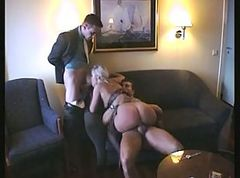 egyptian bbw fucked by 2 men