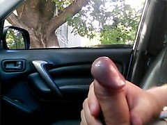 public dick flash cum look car