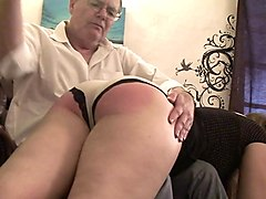 ebony daughter let dad and friends cum inside her