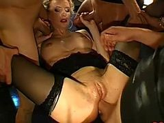 teacher gangbanged and creampied by her students