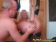 horny mature fisting
