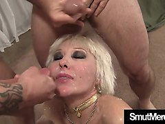 extremly gangbang with skinny girl