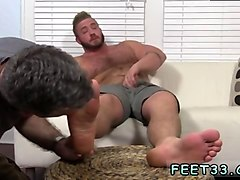 gay feet footjob