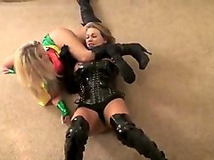 superheroine corrupted hypnotized