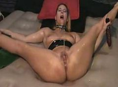 hot wife dildo gangbang: part 1