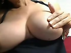 solo milf huge fake tits solo