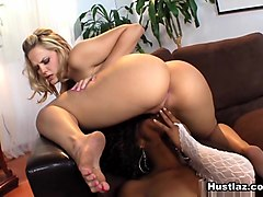 Alexis Texas &  Misty Stone in Alexis Texas Superstar - Hustlaz