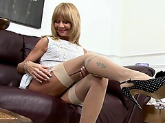 blond mature amateur