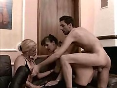 mature group anal creampie