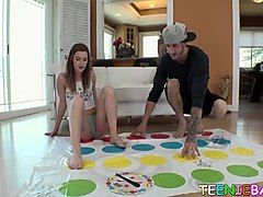 dude has a fuck session after a game of twister with aliana