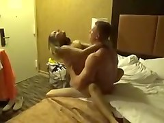 Cuckold Wife Sexy Fucking With Juvenile Boy-Friend in Hotel Room