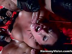 Kerry Louise & Elle Brook in Masked Sex Slaves - HarmonyVision