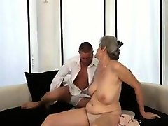 two creampies grany