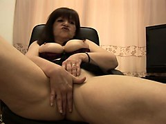 kinky british mature talking dirty solo