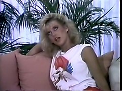 mesmerizing and sassy classic blondie joins a couple for threesome