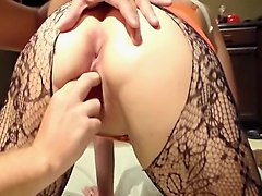 old ass hairy anal creampie