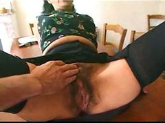 mature maid hairy