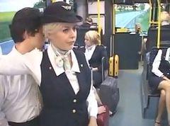 stewardess handjob