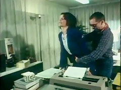 secretary fucks in nylon