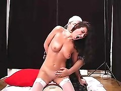 katie kay from cd girls riding the sybian