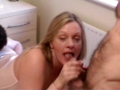 busty wife shared gangbang bukkake piss