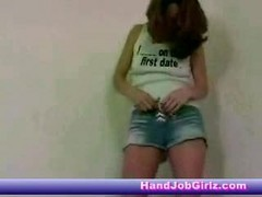 teen tied footjob handjob blowjob
