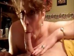 one mature woman and 10 cocks