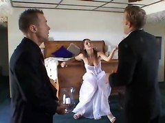 anal bride threesome