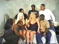 violent gangbang interracial