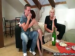 drunk mom get fucked by son