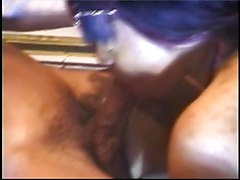 she makes his suck his own dick until he cums in