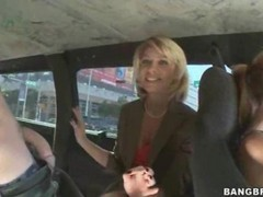 Hot Milf Makes Blowjobs And Hardcore In The Van