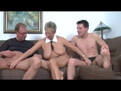 real homemade mature threesome ffm bbw