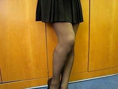 upskirt stocking