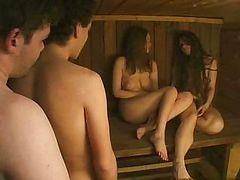 japanese sauna girl